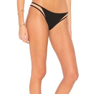 Tori Praver Ribbed MANON High Leg Bikini Bottom